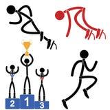 atletiek royalty-vrije illustratie