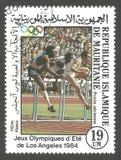 Atletiek, Olympische Spelen Stock Afbeelding