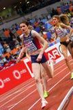 Atletiek - Vrouw 1500m, TERZIC Amela Stock Afbeeldingen