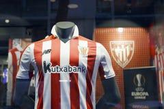 Atletisch het teamoverhemd van het Clubvoetbal stock foto's