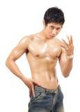 Atletisch lichaam Stock Foto's