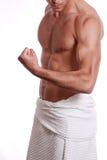 Atletisch lichaam royalty-vrije stock afbeelding