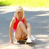 Atletisch meisje Stock Foto's