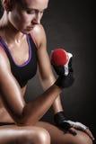 Atletisch meisje Stock Afbeelding