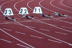 Atletisch Stadion Royalty-vrije Stock Afbeeldingen