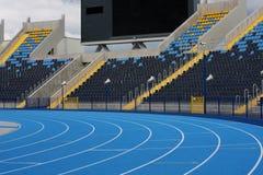 Atletisch stadion stock foto's