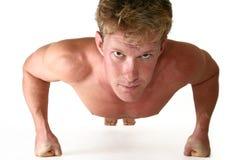 Atletische Dertig iets Mens Stock Foto