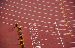 Atletische gebieden Royalty-vrije Stock Afbeeldingen