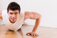 Atletische mens Stock Foto's