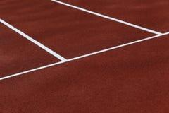 Atletische renbaanstegen Royalty-vrije Stock Foto's