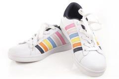 Atletische schoenen Royalty-vrije Stock Foto