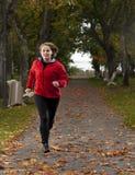 Atletische vrouw. Stock Foto