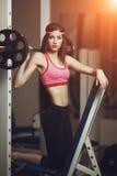 Atletische vrouw Stock Fotografie