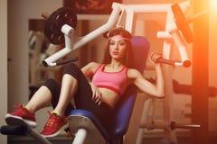 Atletische vrouw Royalty-vrije Stock Afbeelding