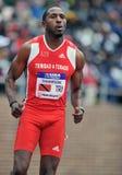 Atletismo 2012 - corredor de Trinidad y de Trinidad y Tobago Fotos de archivo libres de regalías