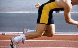 Atletismo Immagine Stock