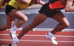 Atletismo Fotografia Stock