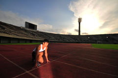 Atletismo 3 Fotografía de archivo