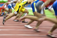 Atletismo Fotos de Stock Royalty Free