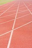 Atletismo al suolo della pista Immagine Stock Libera da Diritti