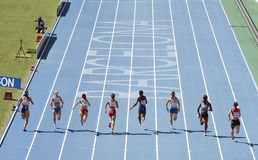 Atletismo das mulheres Foto de Stock Royalty Free