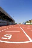 Atletismo de la pista Imágenes de archivo libres de regalías