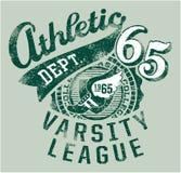 Atletismo del equipo universitario Imagenes de archivo