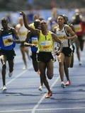 Atletismo dourado internacional da liga de Istaf Berlim fotos de stock