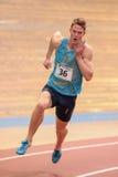 Atletismo interior 2015 Fotos de archivo libres de regalías
