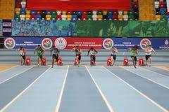 Atletismo interior de la taza de Estambul Fotografía de archivo libre de regalías