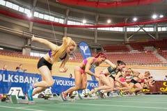 Atletismo interno 2015 Imagens de Stock Royalty Free