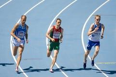 Atletismo los 800m Foto de archivo libre de regalías