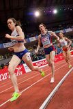 Atletismo - mulher 1500m, TERZIC Amela Imagens de Stock
