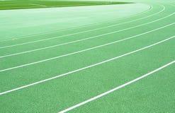 Atletismo verde Imagen de archivo libre de regalías