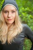atlety żeńscy plenerowi portreta potomstwa Fotografia Royalty Free