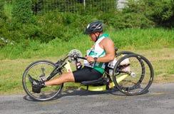 atlety ironman niepełnosprawny Obrazy Royalty Free