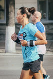 atlety kobiety bieg Obraz Royalty Free
