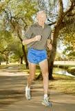 atlety octogenarian biegacz obraz royalty free