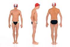 atlety pływaczka Obrazy Royalty Free