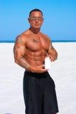atlety plażowy zbiornika mienia produkt fotografia royalty free
