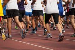 Atlety przy innowacja bieg w Mediolan, Włochy obraz stock