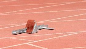 atletyka blokują zaczynać Zdjęcia Royalty Free