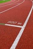atletyka pasa ruchu liczb ślad Zdjęcie Stock