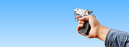 atletyka pistolet Zdjęcie Stock