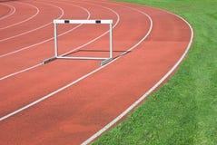 atletyka pola ślad zdjęcie stock