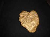 Atlin 30 oz gold nugget Stock Photos