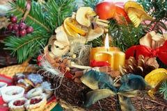 Atmósfera de la Navidad fotos de archivo