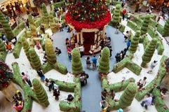 Atmósfera de la Navidad en Malasia Imagen de archivo