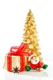 Atmósfera del Año Nuevo y de la Navidad Imagen de archivo libre de regalías