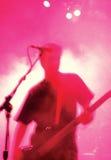 Atmósfera del bajista Foto de archivo